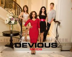 DEVIOUS MAIDS comedy drama mystery series wallpaper x