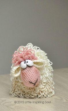 amigurumi mouton - PDF modèle au crochet - Little Inspiring Soul Crochet Diy, Crochet Amigurumi, Easter Crochet, Crochet Gifts, Amigurumi Patterns, Crochet Dolls, Knitting Patterns, Crochet Patterns, Crochet Sheep Free Pattern