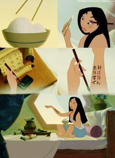 Mulan has showed us how to prepare for tests ;