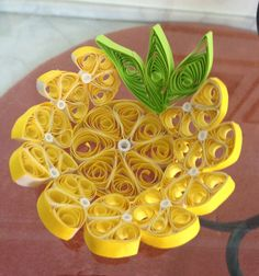 Quilling plate