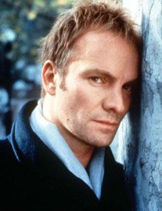 Sting... I couldn't listen for the longest time because his music reminded me of an ex but I'm long over that
