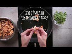 Risotto z brązowego ryżu z kurkami, rukolą i kolorowym pieprzem | Margaryna Optima