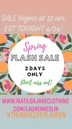 143d311c3c5b4 Matilda Jane Clothing FLASH SALE! Current season items, Joanna Gaines for  MJ collection and