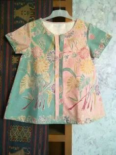 batik blouse for the kids