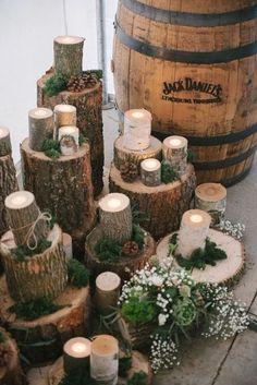 36 Dreamy Winter Woodland Wedding Ideas | http://HappyWedd.com