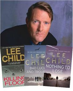 Lee Child, author of the compulsively readable Jack Reacher novels.