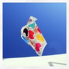 """Shields"" silk scarf by Grecian Chic!"