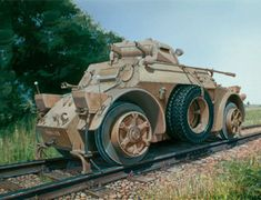The Italeri Autoblina AB40 Ferroviaria in 1/72 scale from the plastic military model range accurately recreates the real life Italian armoured car used during World War II.    This plastic military kit requires paint and glue to complete.