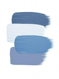 A blue colourway is calming and cool. How would you mix and match with this palette? Colour Pallette, Colour Schemes, Color Combos, Paint Colors For Home, House Colors, Cute Wallpapers, Wallpaper Backgrounds, Logo Fotografie, Watercolor Card