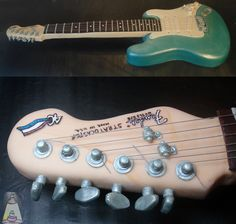 Fender Guitar Fondant Birthday Cake