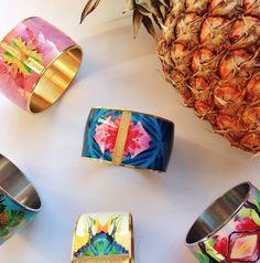 Vargara Collection - Flor Amazona Bracelet Designs, Napkin Rings, Bracelets, Jewelry, Flower, Amazons, Colombia, Jewlery, Jewerly