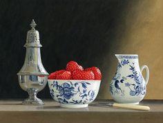 Artist: Tim Gustard; Painting: oooo strawberries