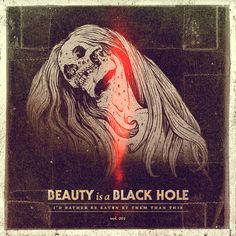 Parachute Journalists – Beauty is a Black Hole Cover Illustration by Jeff Finley Music Covers, Album Covers, Graphic Design Illustration, Illustration Art, Illustrations, Heavy Metal Art, Music Drawings, Album Cover Design, Music Artwork