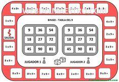 Juegos de matemáticas para imprimir - Web del maestro Table Games, Delaware, Bingo, Calculator, Chicago, Google Search, Maths, Desk Ideas, Gaming