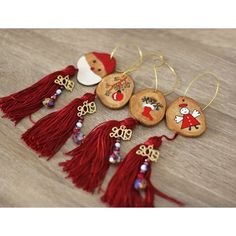 Great Home Decor Trends 2019 christmas lucky charms, 2019 lucky charms, 2019 ornaments, hand painted … Mini Christmas Tree Decorations, Handpainted Christmas Ornaments, Art Christmas Gifts, New Years Eve Decorations, Hand Painted Ornaments, Christmas Makes, Handmade Christmas, Fall Decor Signs, Greek Jewelry