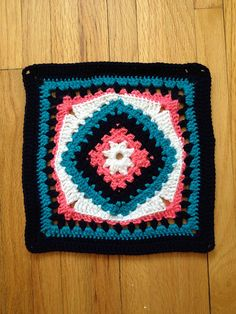 """Ravelry: Project Gallery for 12 """" Diamond in the Rye pattern by Amber Schaaf"""