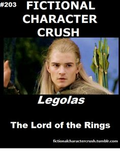 #203 - Legolas from The Lord of the Rings 23/07/2012