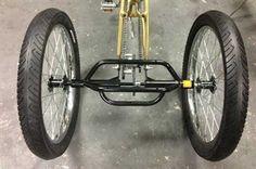 Mountain Trike 3 Speed Fat Tire Beach Cruiser Bike