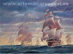 Pintura Militar y Naval: Carrera de Indias I