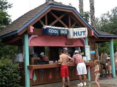 Menu for the Cooling Hut at Disney's Blizzard Beach Water Park. A Quick Service location with sandwiches, snacks, treats, and drinks. Disney World Florida, Walt Disney World, Disney Blizzard Beach, Disney Water Parks, Disney Tickets, Wave Pool, Water Slides, Disney Vacations, Rafting