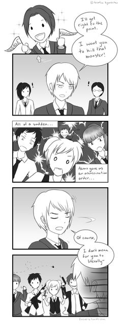 Assassination Classroom credit to the artist Assassination Classroom Funny, Classroom Memes, Koro Sensei, Nagisa Shiota, Nagisa And Karma, Blue Exorcist, Anime Shows, Online Art, Manga Anime