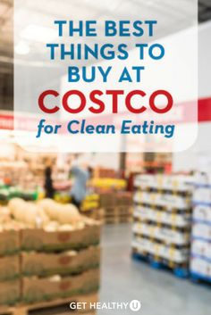 Check out our article about what healthy, delicious foods you can buy at Costco! From produce to rice to coconut water, they've got so many amazing products, and we've got your guide here!