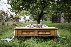 outdoor wedding in garden Outdoor Furniture, Outdoor Decor, Bench, Garden, Table, Wedding, Home Decor, Valentines Day Weddings, Garten