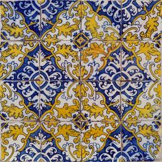 Portugal Handmade tiles can be colour coordinated and customized re. shape, texture, pattern, etc. by ceramic design studios Floor Design, Tile Design, Design Design, Wall Patterns, Textures Patterns, Keramik Design, Italian Tiles, Kitchen Wall Tiles, Vintage Tile