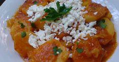 Πατατούλες γιαχνί !!! Πολύ νόστιμες !!! Φαγάκι που θυμίζει έντονα την γιαγιά.....γεμάτο αναμνήσεις ....!!!      ΥΛΙΚΑ 1 κιλό πατάτες ... Rice, Food, Meals, Yemek, Jim Rice, Eten, Brass