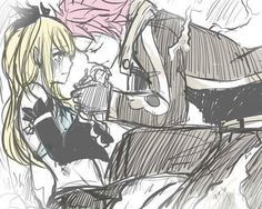 Natsu and Lucy...