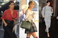 Embrace Your Inner Hipster: Celebs Officially Declare That Plaid Is Here for Good