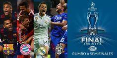 El Real Madrid se medirá a Juventus, Barcelona o Bayern de Múnich en semifinales | Amor fútbol ! ! !
