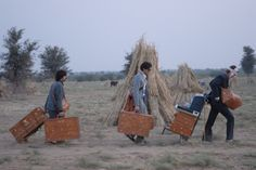 Louis Vuitton's suitcases for Wes Anderson's film The Darjeeling Limited