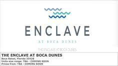 PARADISE LUXURY PROPERTIES: THE ENCLAVE AT BOCA DUNES NEW HOMES FOR SALE IN BO...