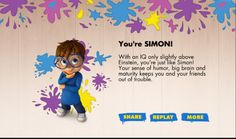 http://www.nick.com/alvin-and-the-chipmunks/games/alvin-and-the-chipmunks-which-chipmunk-are-you/