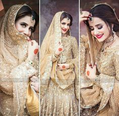 The Effective Pictures We Offer You About Bridal Outfit fashion A quality picture can tell you many things. You can find the m Muslim Wedding Dresses, Muslim Brides, Pakistani Bridal Dresses, Indian Wedding Outfits, Bridal Outfits, Bridal Photoshoot, Bridal Shoot, Bridal Dress Design, Bridal Style