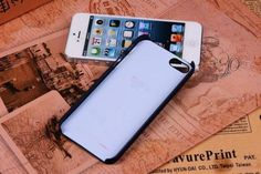 Cococ-Case-Fundas-Para-For-Apple-iPhone-5-5s-X-Gap-Pattern-Transparent-Plastic