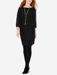 Textured Shift Dress from THELIMITED.com