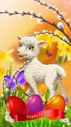 Cute Easter Bunny, Easter Art, Happy Easter Wallpaper, Eid Stickers, Preschool Decor, Farm Quilt, Easter Pictures, Easter Printables, Easter Activities