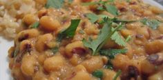 Indian Black-Eyed Pea Masala Recipe Picture