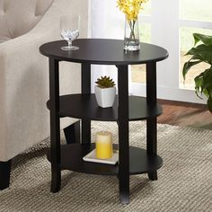 100+ Small End Tables for Living Room - Interior Paint Color Trends Check more at http://www.freshtalknetwork.com/small-end-tables-for-living-room/