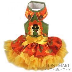 tonimari™ Grand Harvest Dog Dress (This might be my favorite so far!)