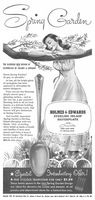 Holmes & Edwards Silverplate 1949 Ad Picture