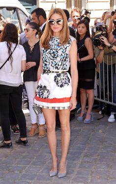 As much as we love this Dior show look on Olivia Palermo, you HAVE to see the way she mixed high and low style at Thakoon