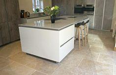 'Dijon' Natural Limestone Flooring, Tumbled finish. - contemporary - Kitchen - East Midlands - Stones of Croatia