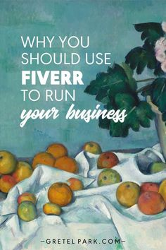 Why You Should Use Fiverr to Run Your Business >> click for more resources, support & advice for freelancers, side hustlers, remote workers & small business owners