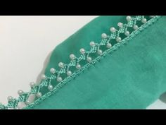 11🌟İncili tığ oyası - YouTube Angel Crochet Pattern Free, Crochet Edging Tutorial, Crochet Edging Patterns, Crochet Vest Pattern, Crochet Lace Edging, Crochet Borders, Crochet Designs, Crochet Stitches, Hand Embroidery Designs