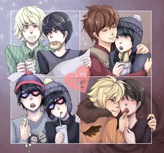 Craig Shippings http://chesslechat.deviantart.com/ NOTE: Craig x Clyde: Yes!             Craig x Stan: Yes! (Even though Stan x Kyle are my OTP.)             Craig x Kenny: No.             Craig x Tweek: FUCK NO!