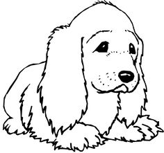 Free Dog Coloring Pages For Kids - Kids Colouring Pages