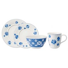 Villeroy & Boch Farmhouse Touch Blueflowers 4-Piece Place Setting-20